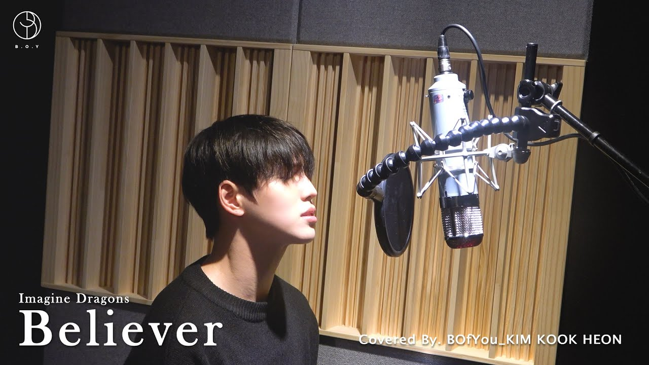 Image result for B.O.Y's Kim Kook Heon showcases stunning vocals in cover performance of Imagine Dragon's 'Believer'