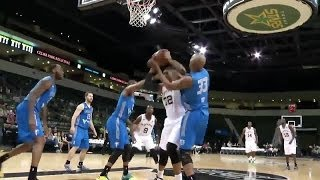 Double-Double for Dexter Pittman (19pts, 11reb)  in close game vs Texas Legends
