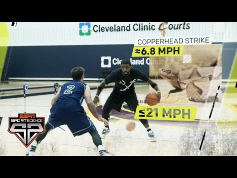 Kyrie Irving's insane quickness | Sport Science | ESPN Archives