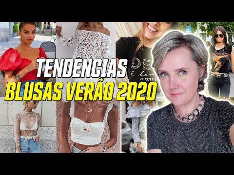 Blusas Tendência VERÃO 2020