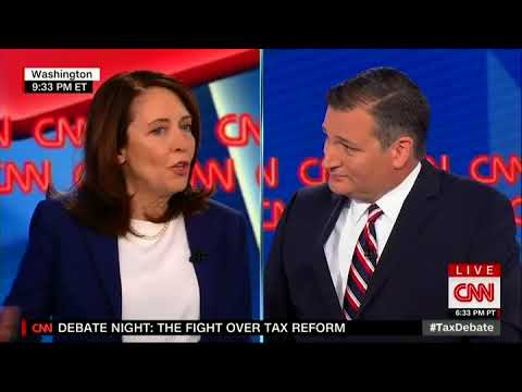Maria Cantwell Dodges When Ted Cruz Asks Her the 'Difference Between a Democrat and a Socialist'