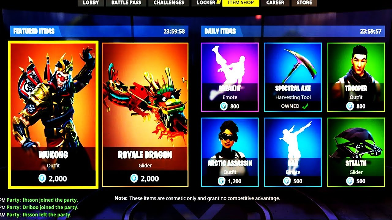 fortnite how to search store