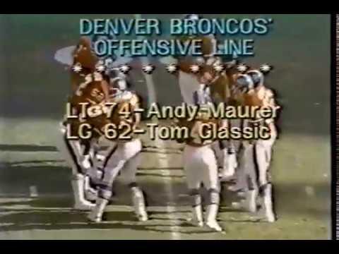 1977 WK 16 AFC Championship Oakland Raiders (12-3) @ Denver Broncos (13-2)