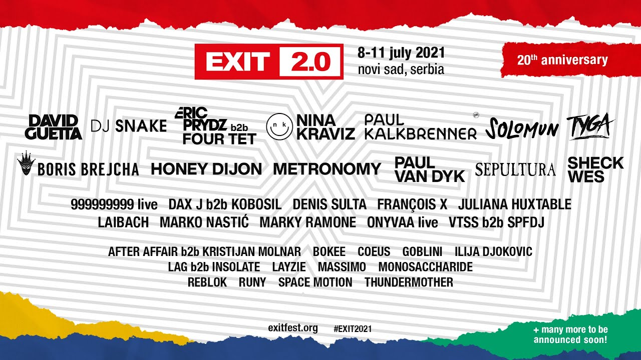 EXIT 20th Anniversary 2021 | The Second Round of Acts
