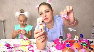 Алисе попалась НЕОБЫЧНАЯ кукла ЛОЛ !!! Еще одна LOL doll которая меняет цвет волос !!!