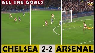 Gabriel Martinelli scores breath taking goal! Chelsea 2-2 Arsenal