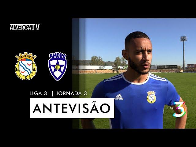 FC Alverca x Amora FC   Antevisão
