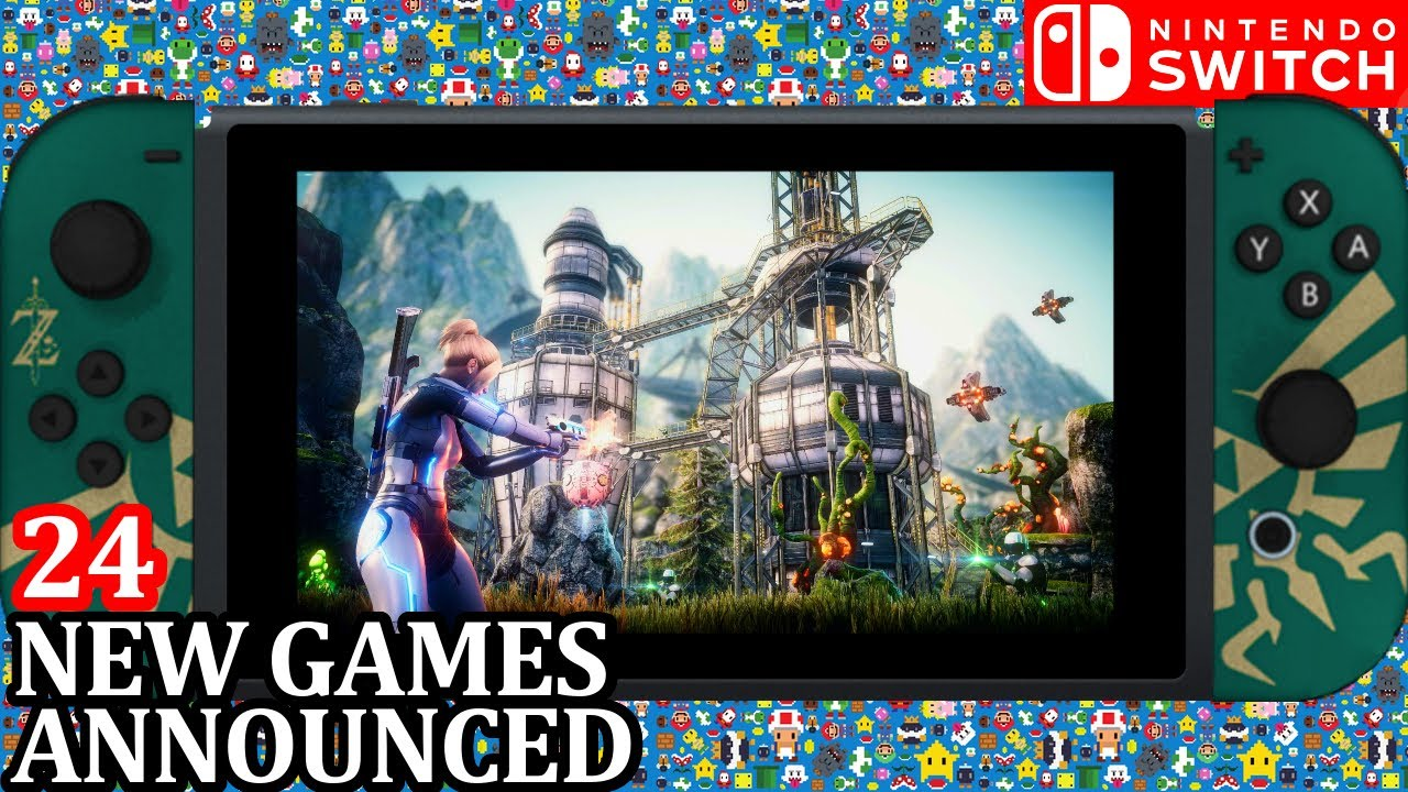 GAMEPLAY 24 New Switch Games ANNOUNCED Release Week 1 July 2020 Nintendo Direct News SUMMER FEST