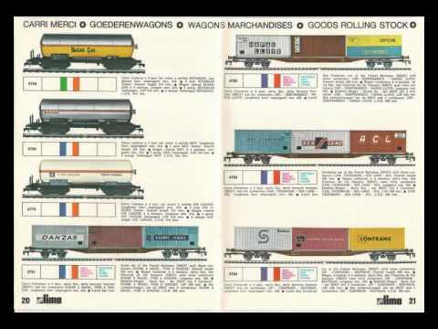 Catalogue Trains Lima 1973-74 1:45 & O Scale