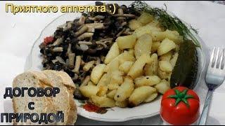 Готовка.Самое простое блюдо из грибов.