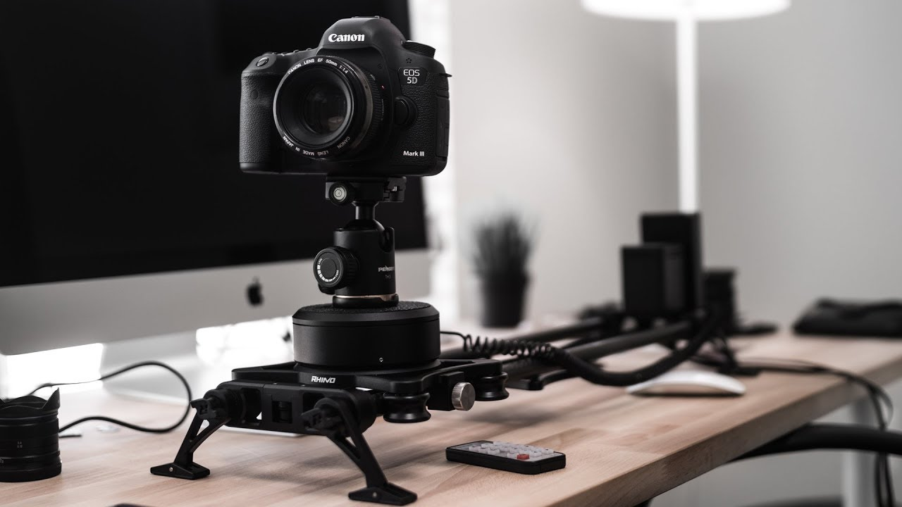 best motorized slider for cinematic camera movement