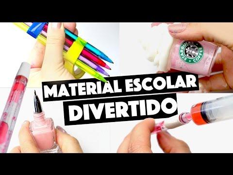 CRIANDO KIT DE MATERIAL ESCOLAR CASEIRO SEM GASTAR NADA #4 | KIM ROSACUCA
