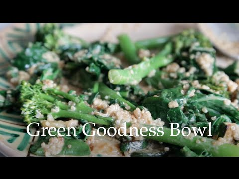 Green Goodness Bowl by Deliciously Ella