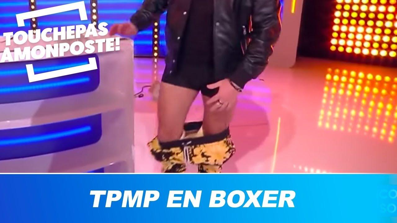 Cyril Hanouna enlève son pantalon en direct ! Il présente TPMP en boxer