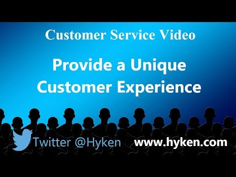 Make Every Customer Interaction Amazing - Provide a Unique Experience