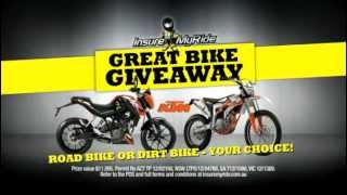 InsureMyRide Great Bike Giveaway