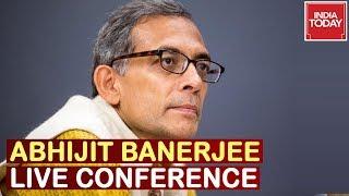 Abhijit Banerjee, Nobel Lauerate,  Speaking At Press Conference | Watch Live