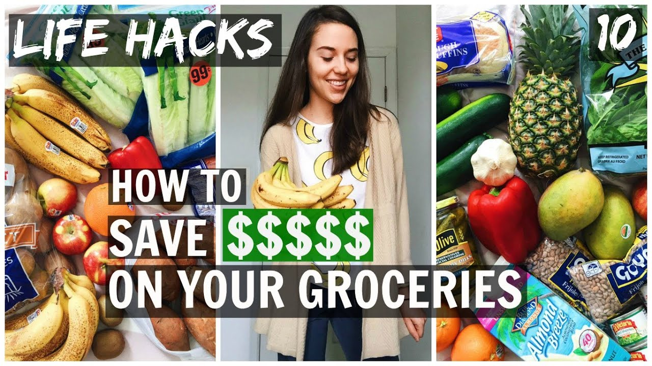 HOW TO SAVE MONEY ON YOUR GROCERIES || DAY 10