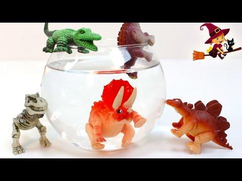 Huevos Sorpresa de Dinosaurios 🔬 Experimentos para Niños