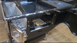Obadiah's: Elmira Fireview Wood Cookstove - Inside the Stove