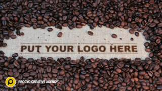 Logo intro 18 | Coffee bean logo