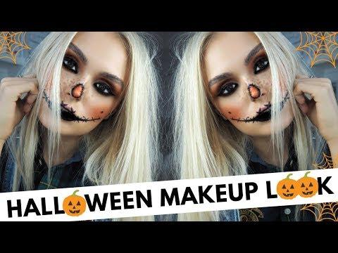 Halloween Makeup Look   Easy Peasy Tutorial   Scarecrow Look  