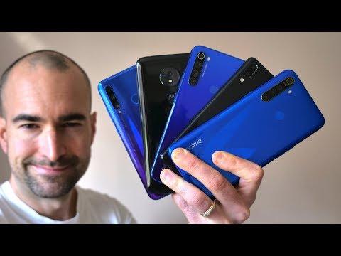Best Sub-£200 Budget Smartphones (2020)