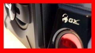 Genius SW-G2.1 1250 GX Gaming Speaker Review