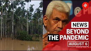 Top News August 6: Flood situation in Kerala & Uttarakhand, Manoj Sinha appointed LG of J&K