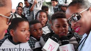 twinsportstv interview with municipal raiders 8u
