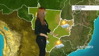 Previsão Centro-Oeste - Ar cada vez mais seco