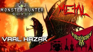 Monster Hunter: World - Vaal Hazak Theme 【Intense Symphonic …