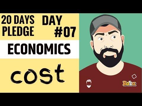 DAY 07 I ECONOMICS I Chapter-06 Cost I #20dayspledge
