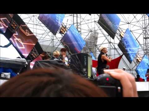 [HD] 130701 SHINee (get wet in rain) + Henry Trap (Taemin Focused) @ 香港巨蛋音樂節 Hong Kong Dome Festival