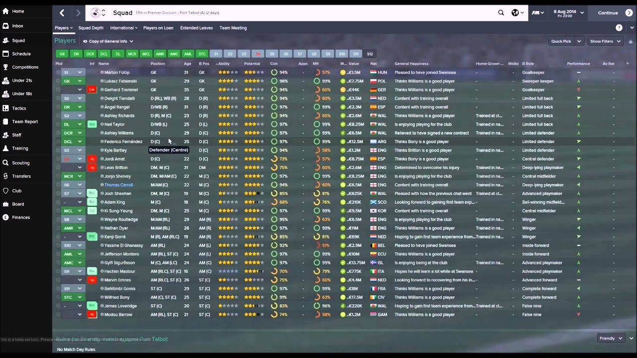 Football manager 2017 january transfer update