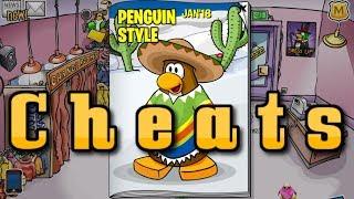 Club Penguin ReWritten - Catalog CHEATS!! & New Hidden PIN - JANUARY