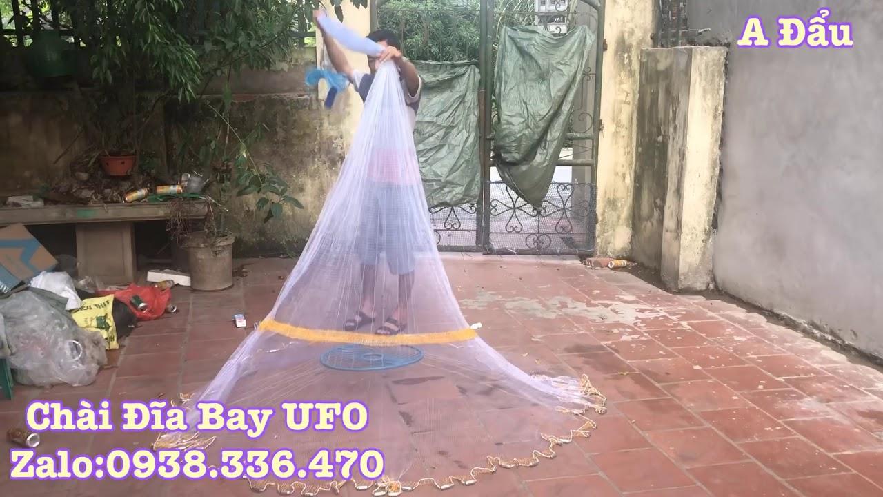 CHÀI ĐĨA BAY (UFO). 21 dây chịu lực .Zalo:0938.326.470 A Đẩu