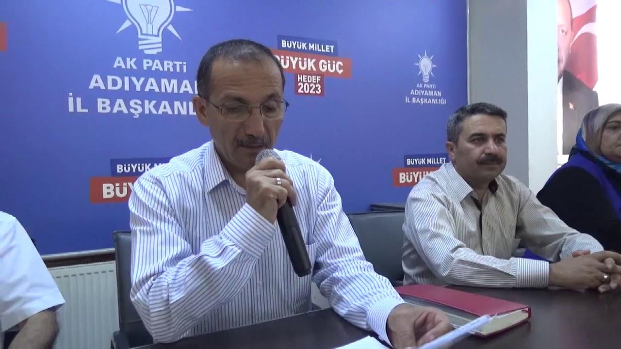 AK Parti Adıyaman İl Başkanlığı 6. Olağan Kongre Açıklaması