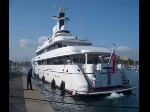 Micky Arison and his Crazy US$ 70 Million SuperYacht Mylin IV