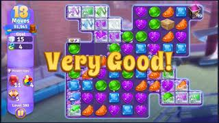 Wonka's World of Candy Level 380 - NO BOOSTERS + FULL STORY ???? | SKILLGAMING ✔️