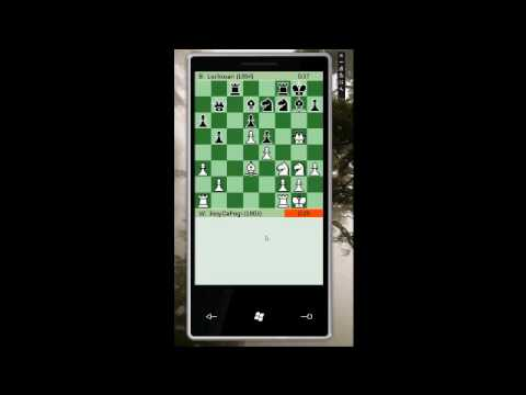 Turn by turn multiplayer chess on Windows Phone 7