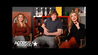 Lia Marie Johnson, Logan Paul & Peyton List Describe 'The Thinning' | Access Hollywood