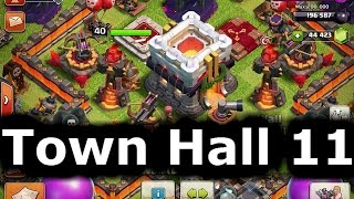Town Hall 11 Officially Announced And New Bird Defense!! - Th11 Clash Of Clans Update ClashCon
