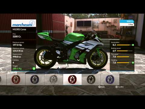 RIDE Demo - Forza Meets Motorcycles PS4