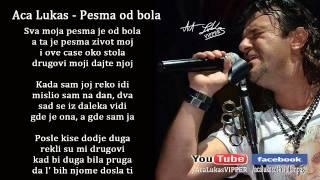 Aca Lukas - Pesma od bola - (Audio 2008) HD