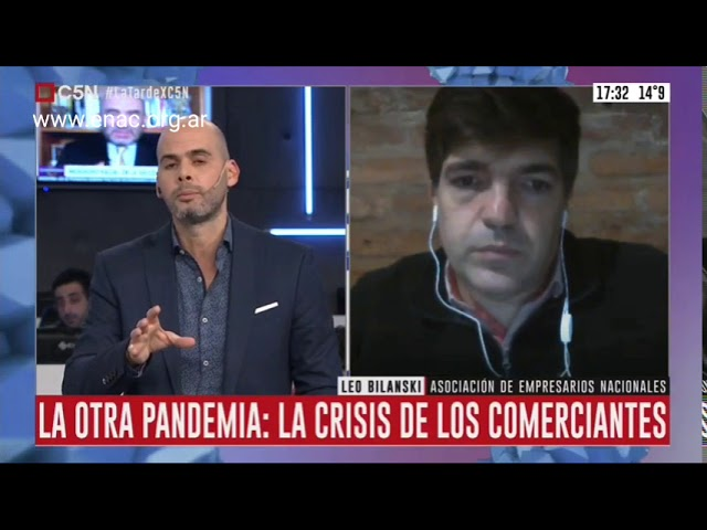 Por el Covid en Argentina cerraron 20 mil pymes - ENAC en C5N