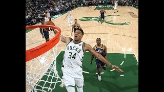 Giannis Showed Off Windmill Dunk In Preseason