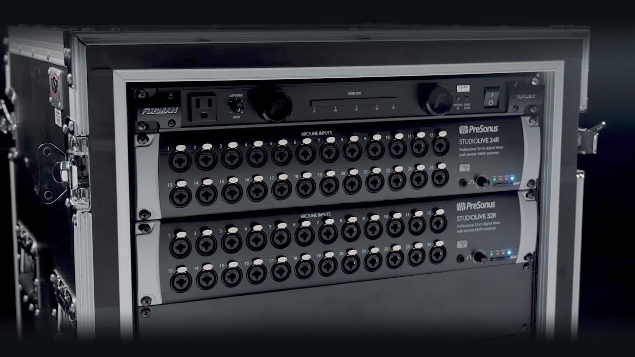presonus rack audio interface