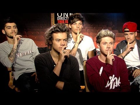 One Direction on Getting Naked and Dating Fans! | This is Us Interview | POPSUGAR Interviews