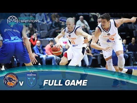 LIVE 🔴 - Tsmoki-Minsk (BLR) vs Sigal Prishtina (KOS) - Basketball Champions League 17-18
